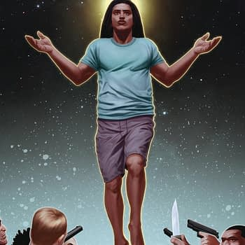 Killing Jesus Christ in Crucified, Launching This Month From Scout Comics