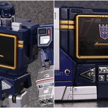 Transformers Masterpiece MP-13 Soundwave Being Reissued