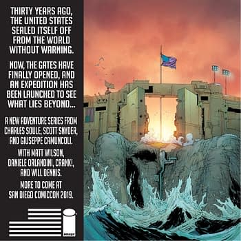 For the 4th Of July - a Comic About a USA That Built a Wall Against Everyone, From Scott Snyder and Charles Soule