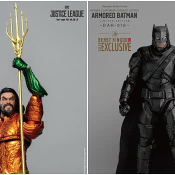 Aquaman and Batman DCEU SDCC Exclusives From Beast Kingdom