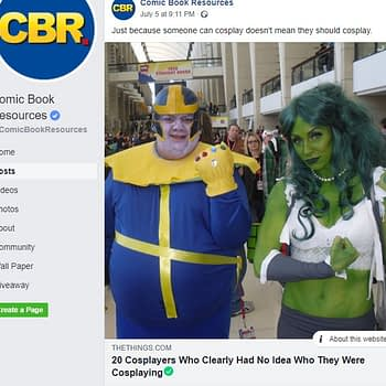 CBR, and a Little Weekend Cosplay Shaming