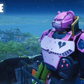 """Fortnite"" Had A Giant Mech Vs. Kaiju Battle Yesterday"