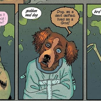 Ice Cream Man #13 - the First Palindromic Comic?