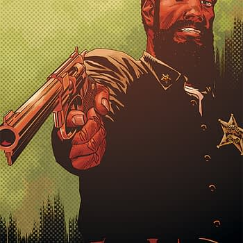 Sheriff Kapoor's First Appearance Will Be in The Walking Dead #193 (Spoilers)