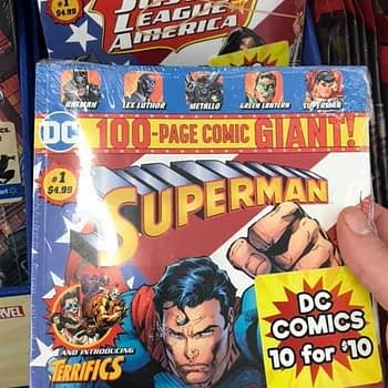 DC Comics Sell 10 Comics For $10 at Walmart