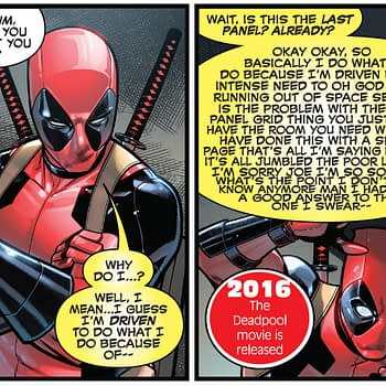 The Pages Marvel Comics #1000 Had to Switch When They Forgot When the Deadpool Movie Came Out