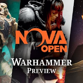 NOVA Open banner for games workshop