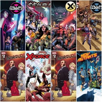 Marvel November 2019 Solicitations For #DawnOfX X-Men, X-Force, New Mutants, Marauders and Excalibur