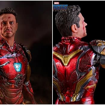 Iron Studios reveals I am Iron Man statue that We Love 3000!