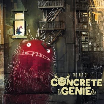Dark Horse to Publish a Concrete Genie Art Book