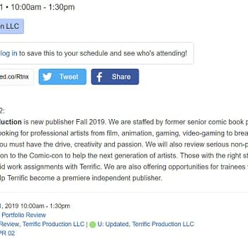 Will Youngblood Be Published by Terrific Productions?