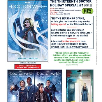 MediEvil Gets a Prequel Comic and Doctor Who Gets a 2019 Christmas Special in Titan Comics November 2019 Solicits