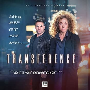 """Transference"" starring Alex Kingston: A Fun but Flawed Hitchcockian Audio Thriller"