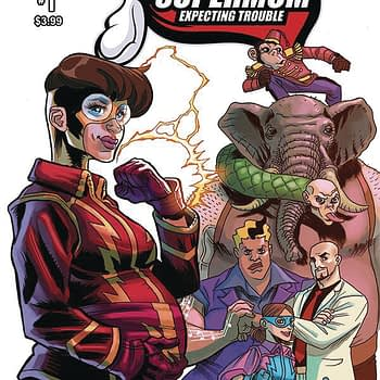 """When a Pregnant Superhero Has to Fight the Baby's Father... """"Supermom Expecting Trouble"""" Launches in Action Lab December 2019 Solicitations"""