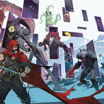 Grant Morrison and Dan Mora Creat Widescreen Comic For Joe Christmas