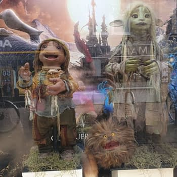 Forbidden Planet Comic Stores in the UK Get Actual Dark Crystal Puppet Window Displays