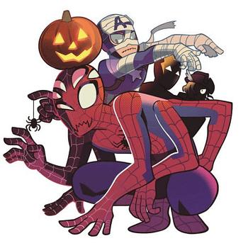 Marvel Comics/Shonen Jump Manga Collaboration Includes Halloween Avengers