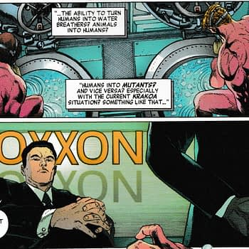 Is Today's Invaders #9 - the First Marvel Tie-In With HOXPOX?