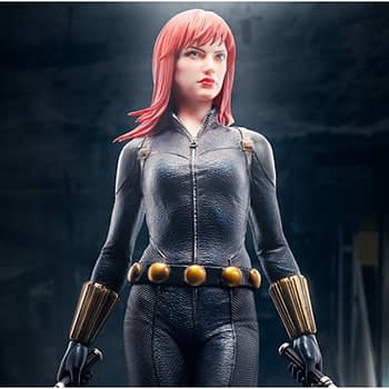 Black Widow's Beauty Shines with Kotobukiya's ArtFx Premier Statue