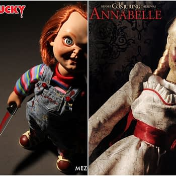 """Mezco Announces """"Chucky"""" and """"Annabelle"""" Dolls That Are to DIE For!"""