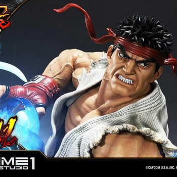 Ryu is Hadouken Ready in New Prime 1 Studios Statue