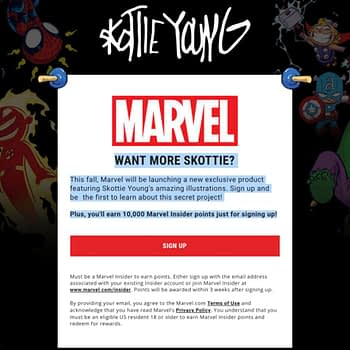 Marvel Has a Secret Skottie Young Project Page... What Are They Hiding?