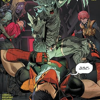 Red Hood And The Outlaws Really Wants to Be The Men