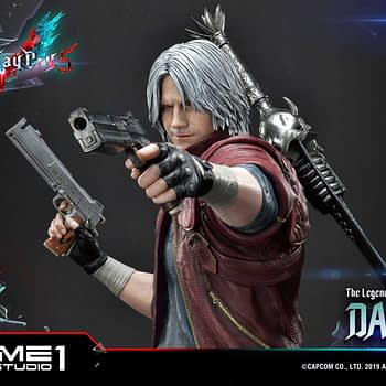 "Dante Is Ready to Take on Hell with New ""Devil May Cry"" Statue"