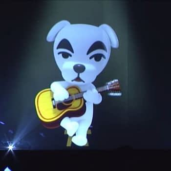 """Animal Crossing's"" K.K. Slider Appears During ""Splatoon 2"" Concert"