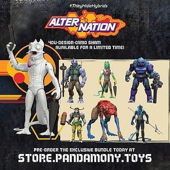 Tim Seeley and Mike Norton Create Dark Horse Comics Based Panda Mony Toys' AlterNation Figures