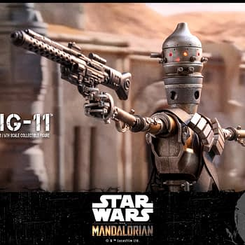 IG-11 Gets His First Star Wars Figure with Hot Toys
