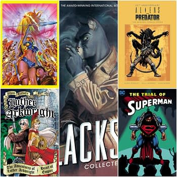 A Few More Big Books For 2020 - Blacksad, Luther Arkwright, Mark Brooks Monograph and More