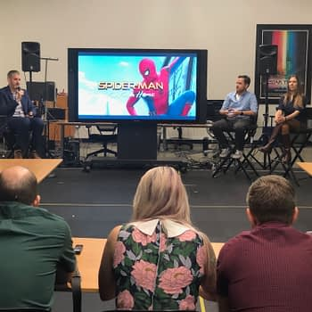 """""""Spider-Man: Far From Home"""": Exploring the Visual Effects at Third Floor Studio"""