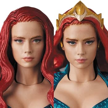 Aquaman's Mera Makes a Splash with New Mafex Figure