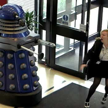 """Doctor Who"": Of Course the BBC Would Terrorise People With a Dalek on Halloween [Video]"