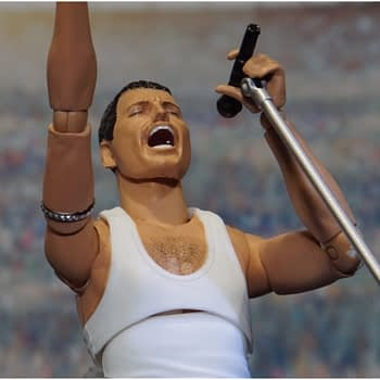 Freddie Mercury Makes His Way to the Stage Figuarts Figure