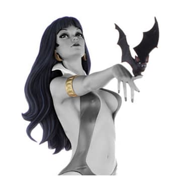 Vampirella Seduces Us for Her 50th Anniversary Sideshow Statue