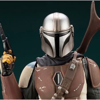 Bounty Hunters from the Mandalorian get Kotobukiya ARTFX Statues