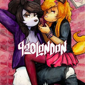 920London: Image Comics Brings the Furry Emo Romance in New OGN from Pervert Artist in April