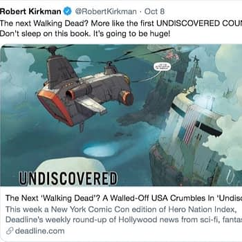 Undiscovered Country #1 is Biggest Launch for Image Comics in Five Years
