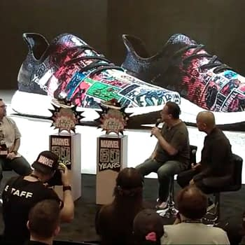 Joe Quesada Reveals Hidden Code in Marvel Adidas Footlocker Sneakers