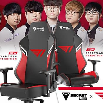 Secretlab Partners With T1 For A Special Edition Gaming Chair