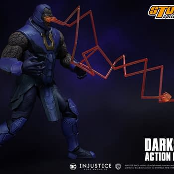 """Darkseid Has Arrived in New """"Injustice"""" Figure by Storm Collectibles"""