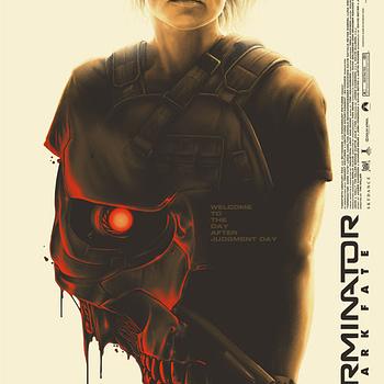 "Friday Poster Releases - Edmiston ""Joker,"" NYCC Leftovers Plus New Mondo ""Terminator: Dark Fate"""