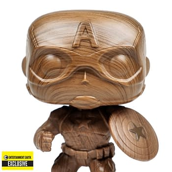 Captain America Gets Wooden in the New Funko Park