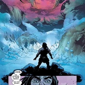 Conan Meets Crom, a Possible New Love Interest for Krakoa?