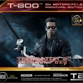 The Terminator Is Ready for the Open Road in the New Statue