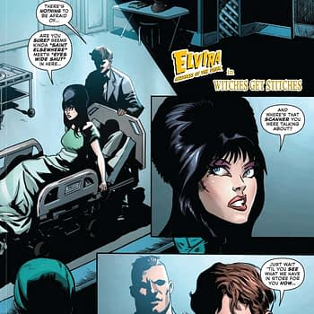 David Avallone's Writer's Commentary on Elvira: Mistress Of The Dark #10