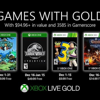 Xbox Reveales Their December 2019 Games With Gold