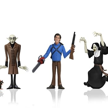 Toony Terrors Wave 3 From NECA Includes Ash, The Nun, and Nosferatu